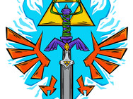 Master Sword with Tri-Force