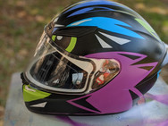 Owl Helmet (side)