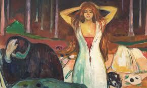 "Edward Munch, Edvard Munch's ""Ashes"" (1925), S.F. Museum of Modern Art."