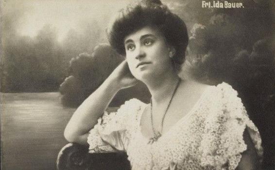 Ida Bauer, (Dora), 1882-1945.