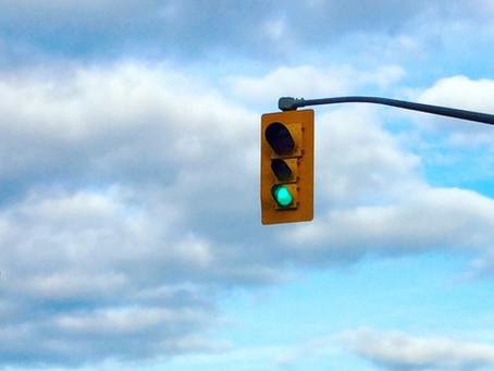 Tendon traffic light system