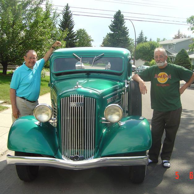 1936 GMC, Brothers