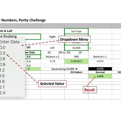 Parity Challenge Numbers Calculator
