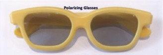 Polarizing Glasses, plastic