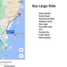 Key Largo Ride