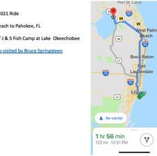 Route 122  miles