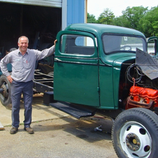 Prior to Cab restoration