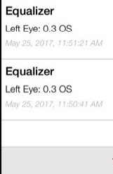 Initial test shows 0.3 defect OS