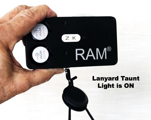 Lanyard Taunt/Light on