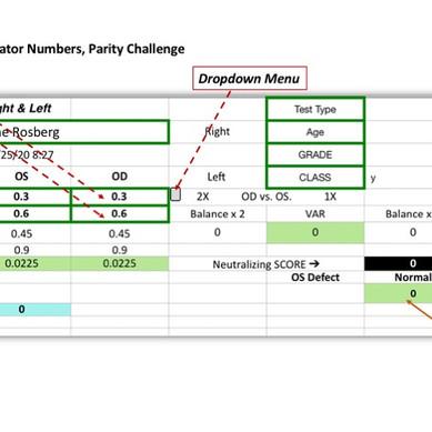 Parity Challenge Numbers Calcalulator
