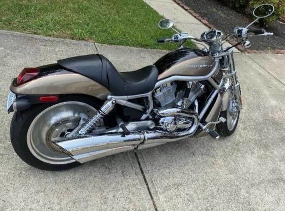 Sleek V-Rod ride