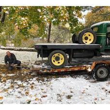 Frank loading GMC T16