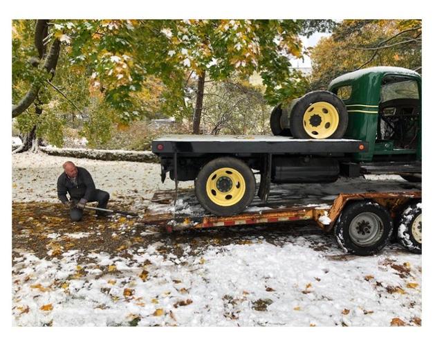 Frank loading GMC T15