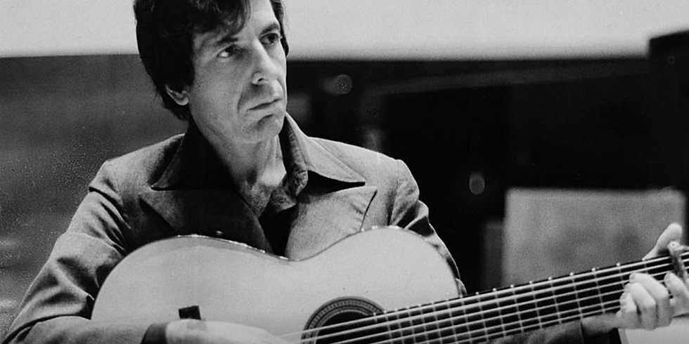 Ilan in Leonard Cohen Tribute with Monsieur Camembert