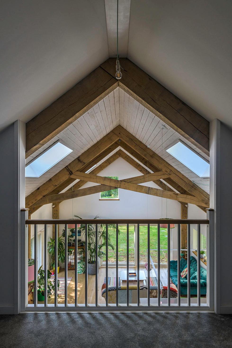 KAST Architects - Fairfield Barn - Oak Frame