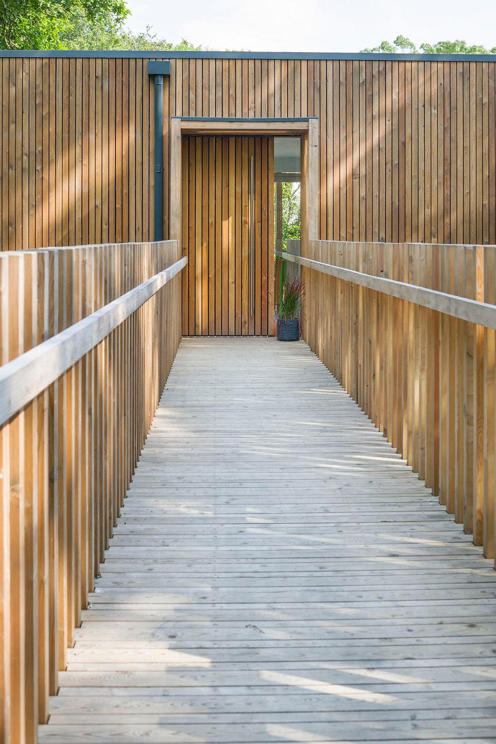 KAST Architects - Sylvania - Entrance Bridge