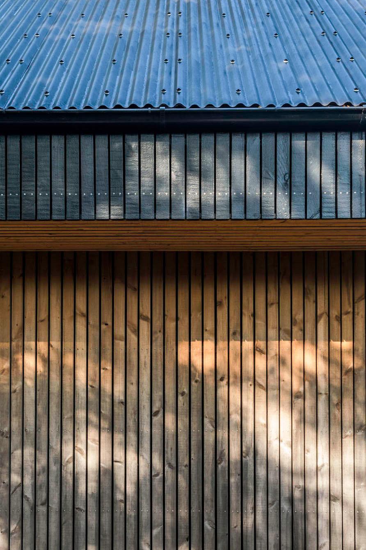 KAST Architects - Fairfield Barn - Timber Detail