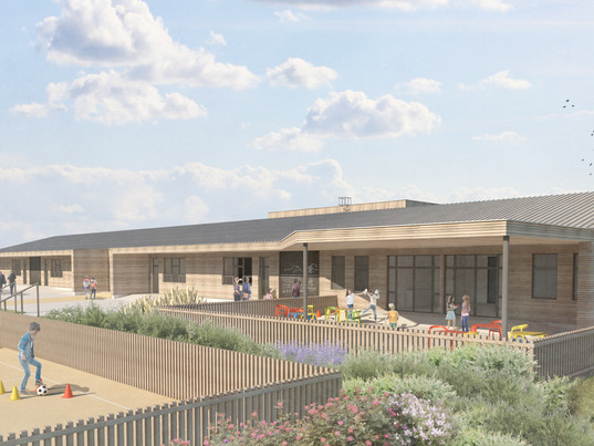 Leicestershire Primary School submitted for planning