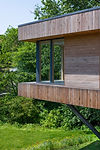 KAST Architects - Sylvania - Timber Clad Cantiever