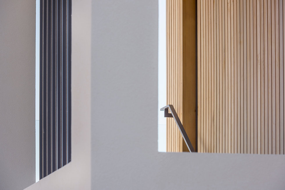 KAST Architects - Sea Edge - Staircase Detail