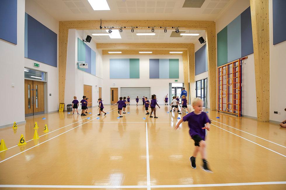 KAST Architects - Fossebrook Primary School - Hall Activities