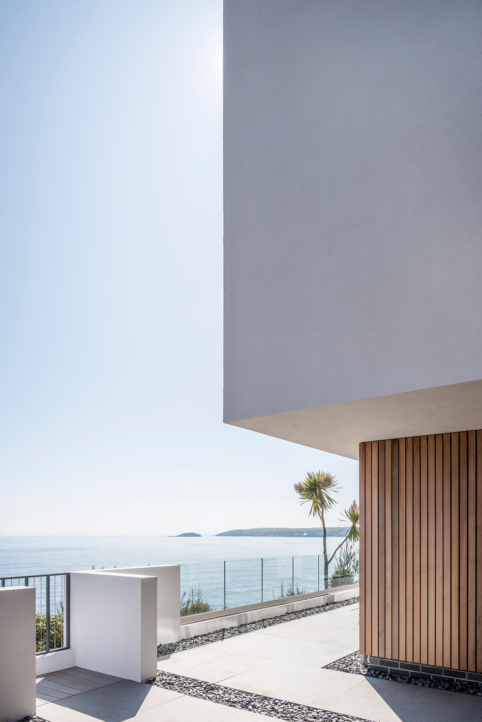 KAST Architects - Sea Edge - Timber and Render Detail