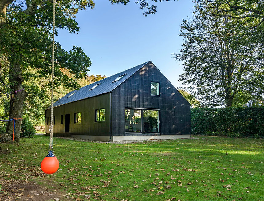 KAST Architects - Fairfield Barn - External View