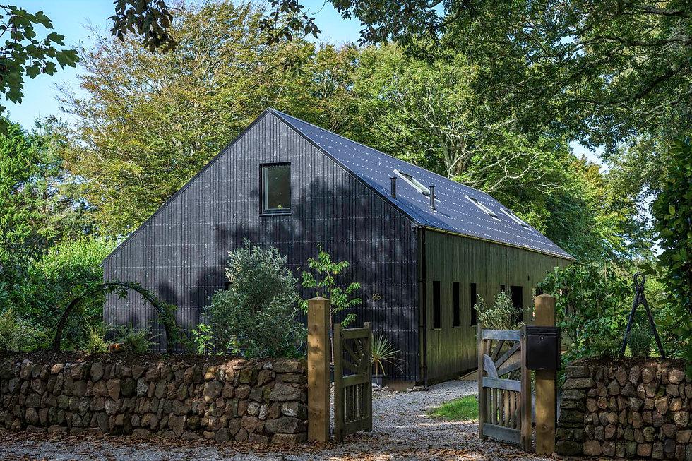 KAST Architects - Fairfield Barn - External Overview