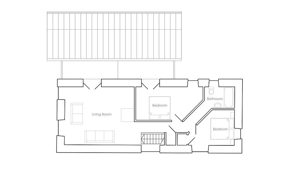 KAST Architects - Trenethick Barn - First Floor Plan
