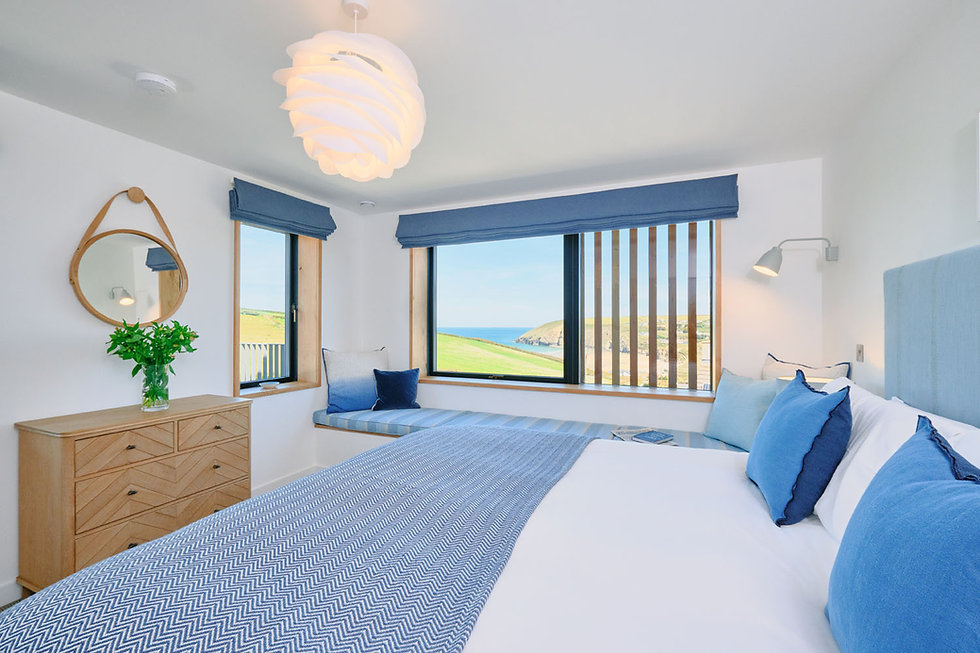 KAST Architects - Prennek House - Bedroom View 1