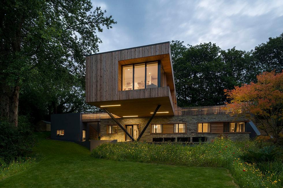 KAST Architects - Sylvania - Dusk External