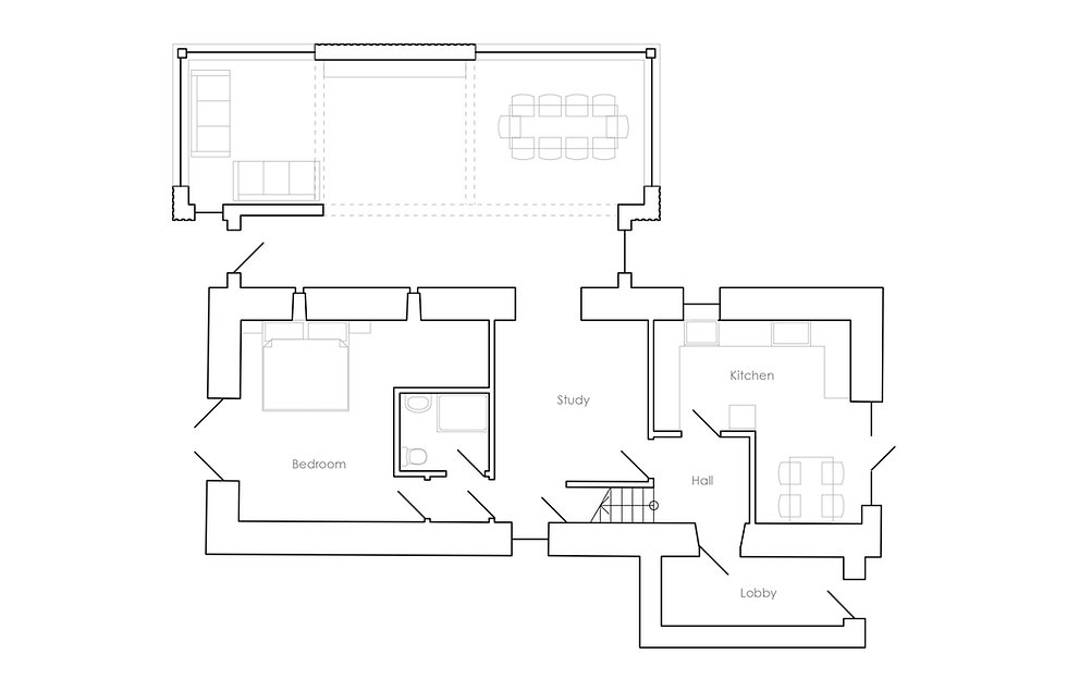 KAST Architects - Trenethick Barn - Ground Floor Plan