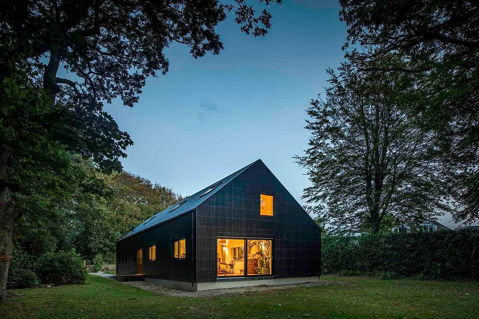 KAST Architects - Fairfield Barn - Dusk