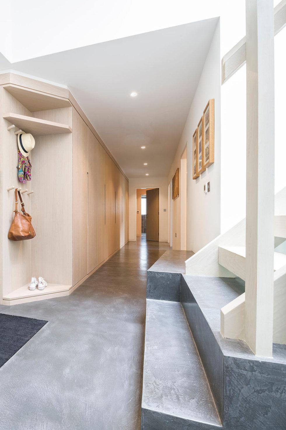 KAST Architects - Sylvania - Concrete staircase detail