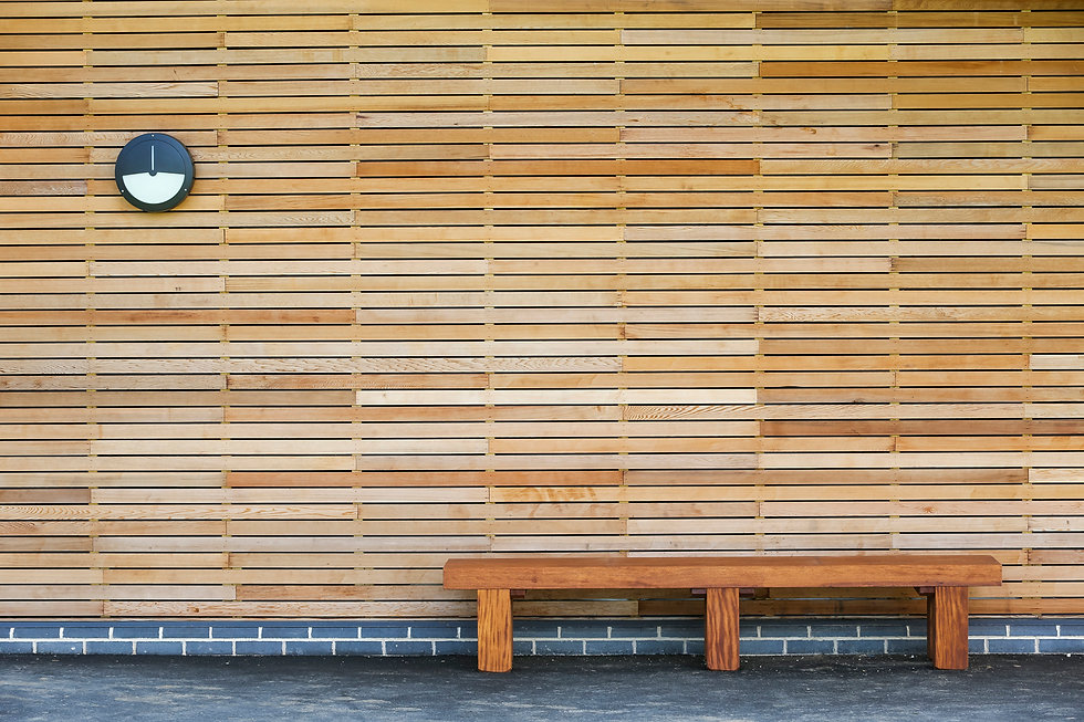 KAST Architects - Fossebrook Primary School - Timber and Bench Detail