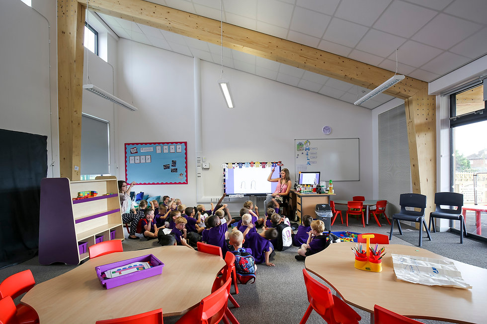 KAST Architects - Fossebrook Primary School -  Classroom 2