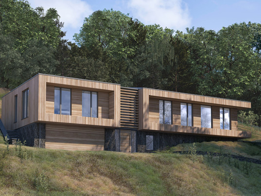 Planning approved for creekside dwelling