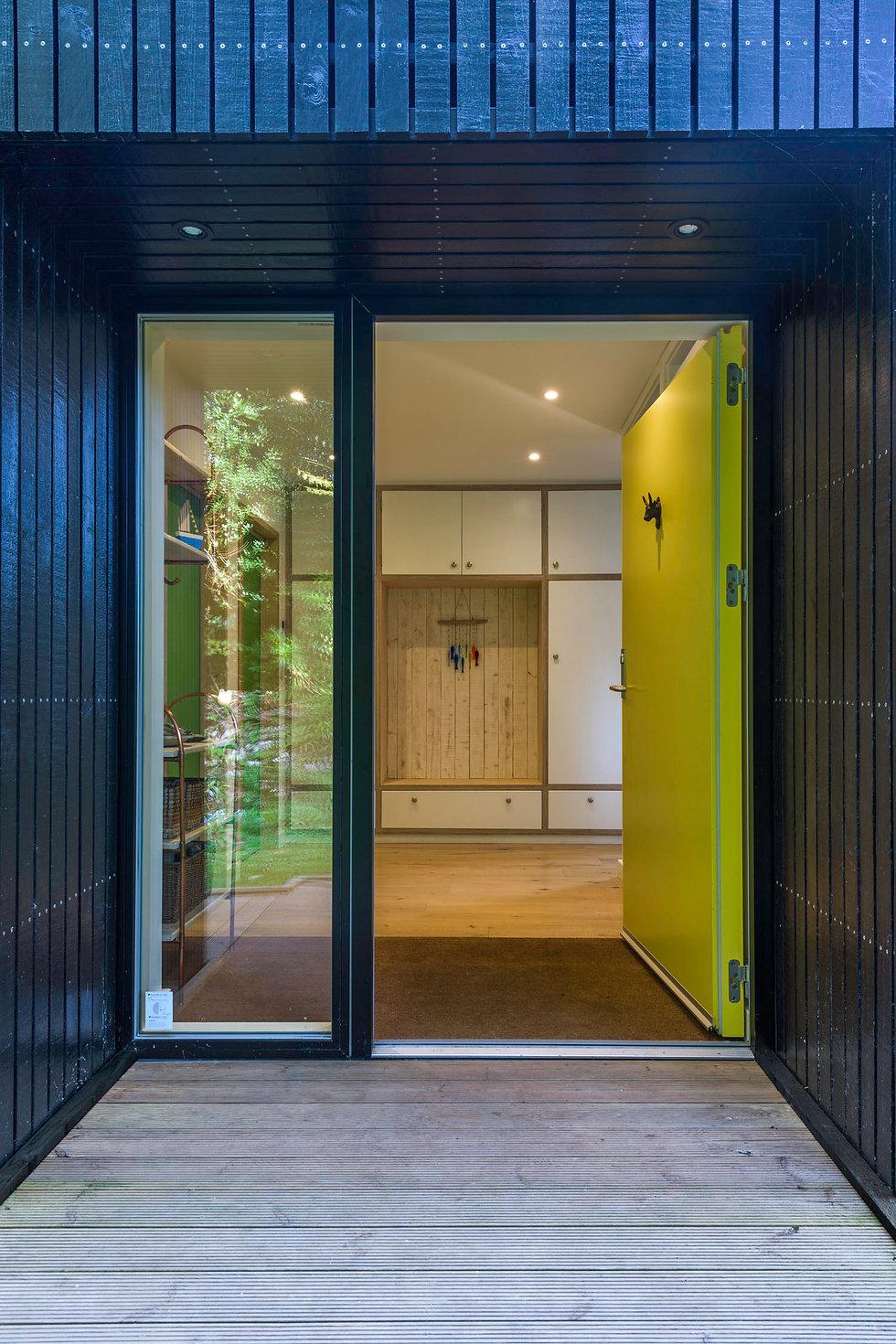 KAST Architects - Fairfield Barn - Entrance
