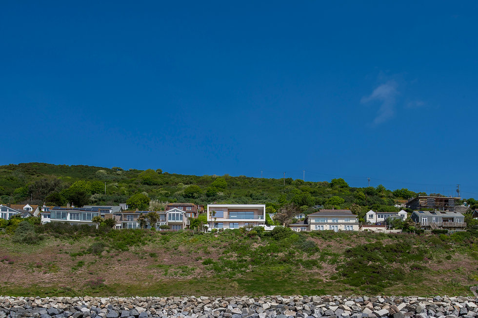 KAST Architects - Sea Edge - View from the sea