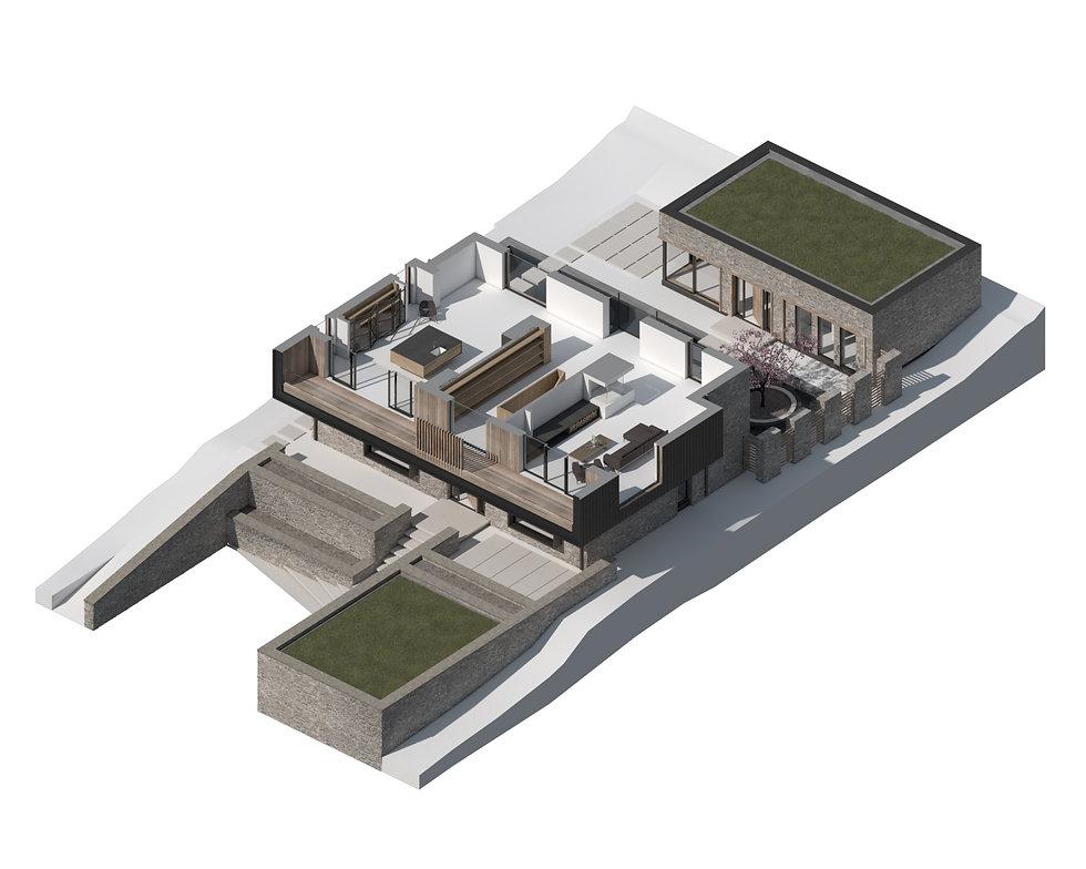 KAST Architects - Hunter's Moon - Isometric Diagram