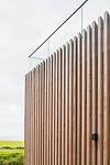 KAST Architects - Karn Havos - Timber Cladding Detail