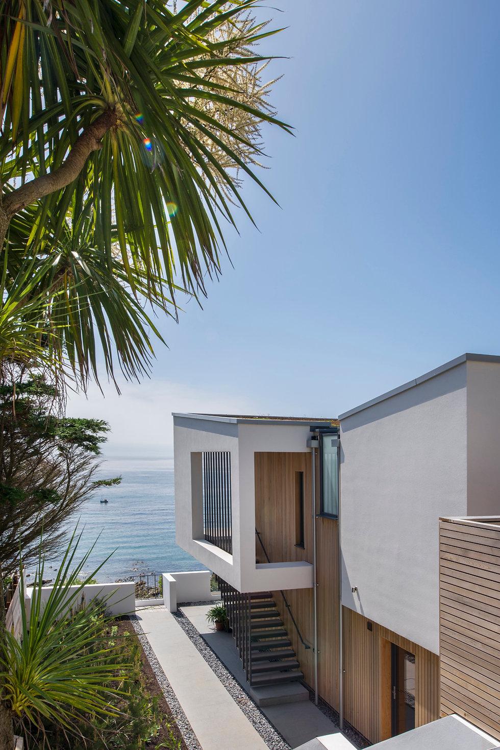 KAST Architects - Sea Edge - External Staircase Detail