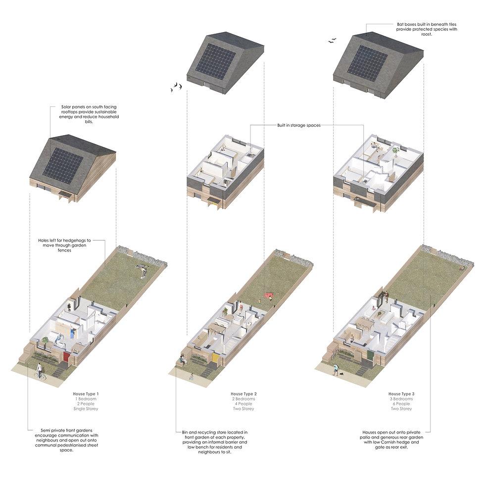 KAST Architects - CCLT Lanivet - Isometric Diagram