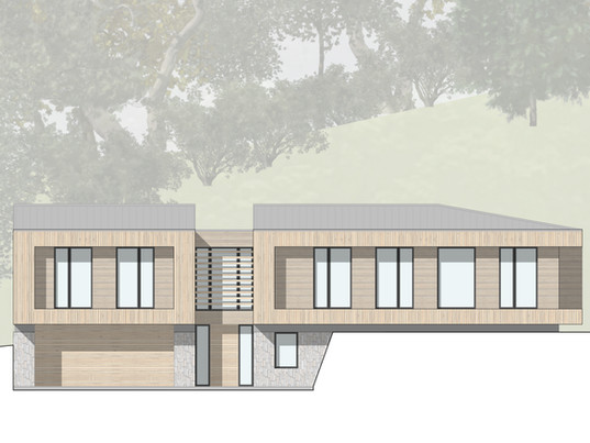 Planning application submitted for new house