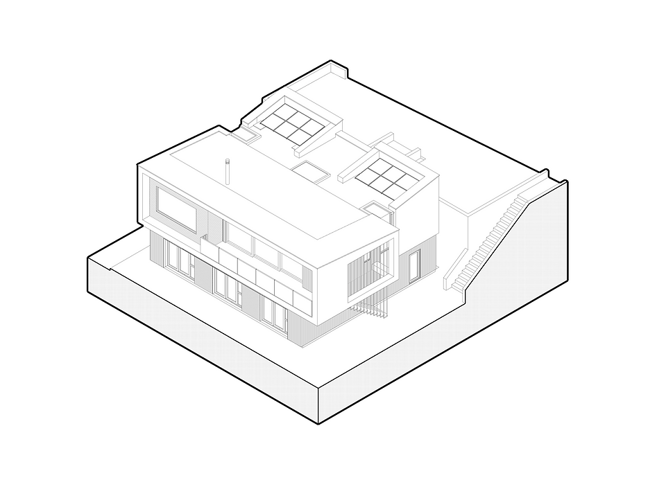 KAST Architects - Sea Edge - Isometric Diagram