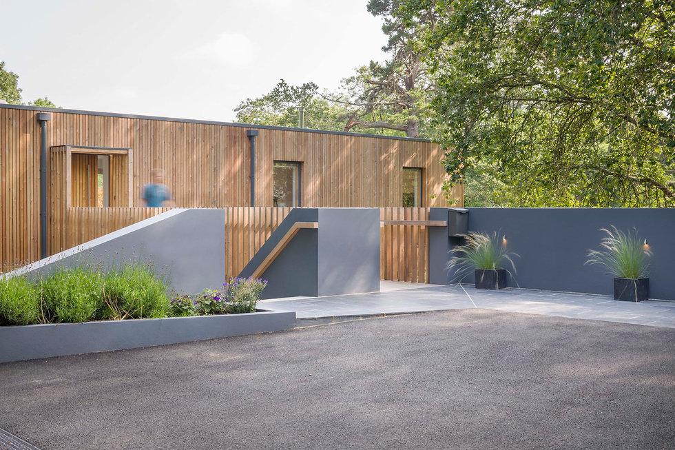 KAST Architects - Sylvania - Entrance