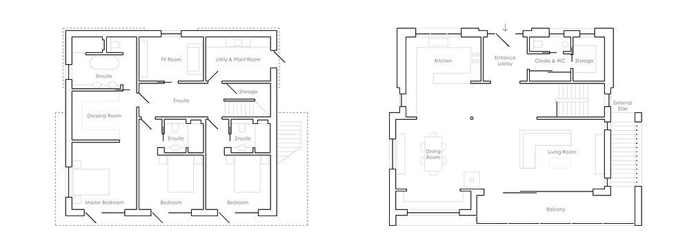 KAST Architects - Sea Edge - Plan Diagrams