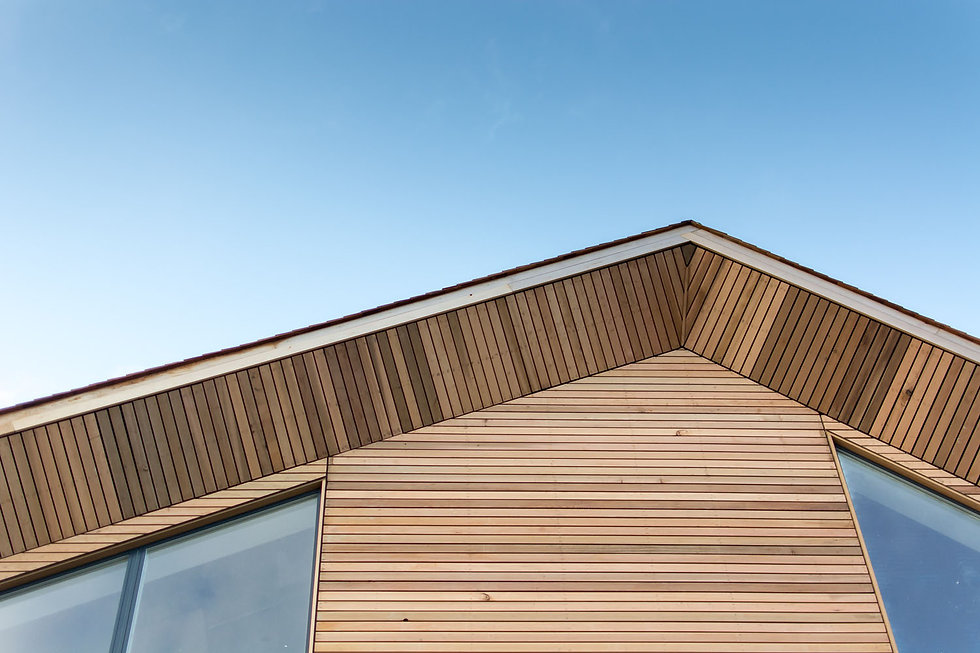KAST Architects - Aspects Holiday Headquarters - Timber Gable Detail