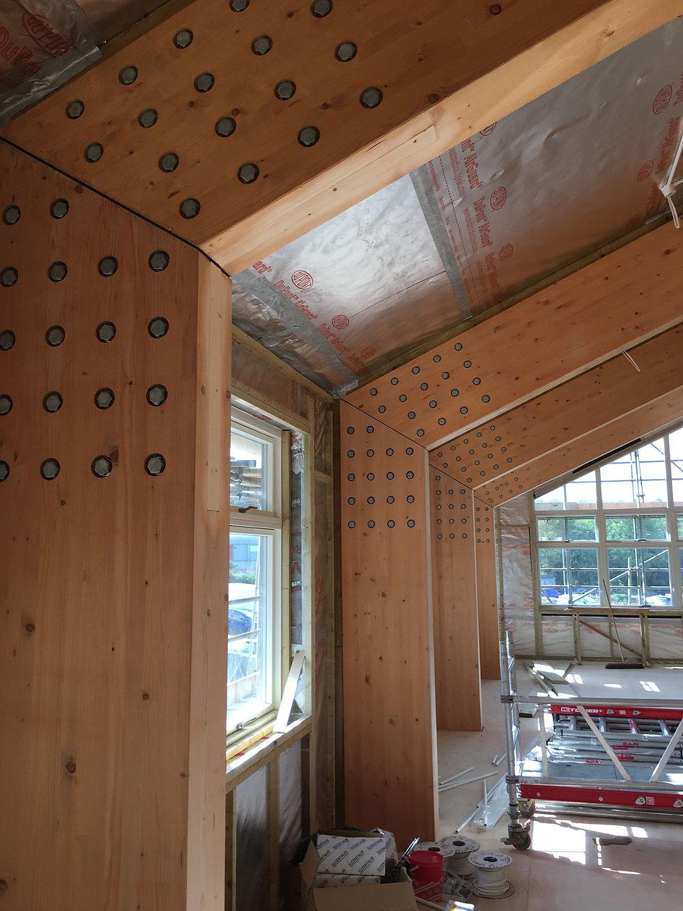 KAST Architects - Aspects Holiday Headquarters - Internal Glulam Frame