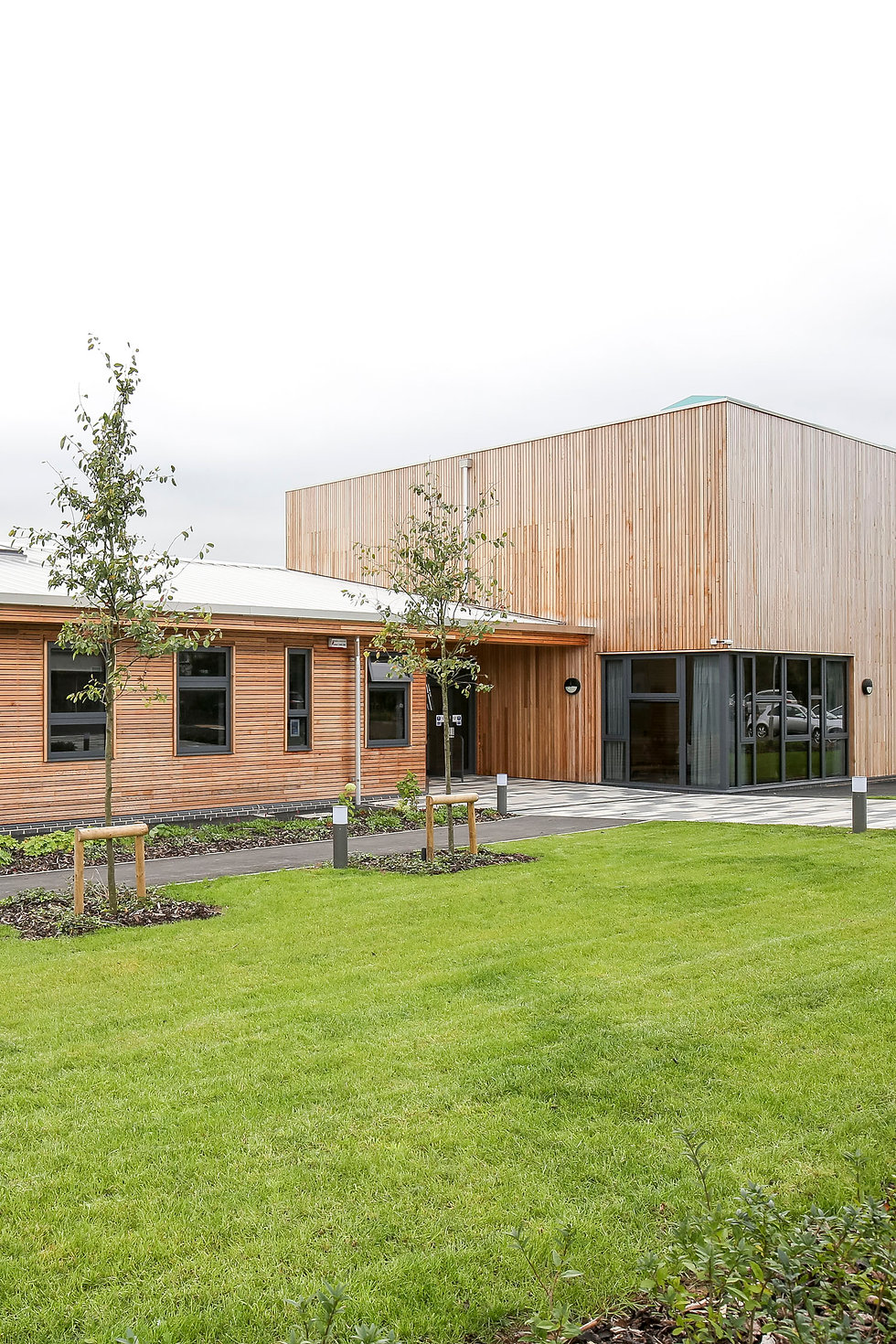 KAST Architects - Fossebrook Primary School - Reception Entance and Hall